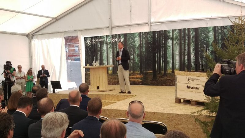 Partner Fortum Inaugurates Near-By Central City Heating Plant